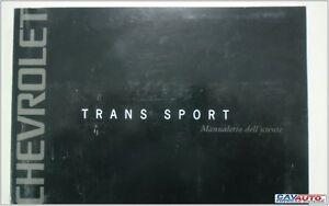 Libretto-Uso-e-Manutenzione-CHEVROLET-TRANS-SPORT-2001-3400-V6
