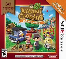 Animal Crossing: New Leaf -- Welcome Amiibo Nintendo Selects (Nintendo 3DS, 2017)