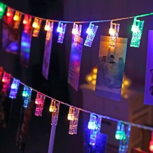 1-5M-3M-6M-10M-LED-String-Lights-Photo-Clip-Decoration-Lights-AA-For-Party