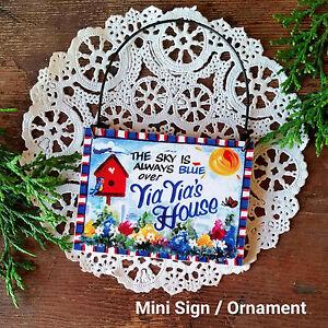 Yia Yia Mini Sign * yiayia Greek We make EVERY Relatives NAME Here Just Ask!