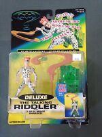 1995 Hasbro Kenner Batman Forever Deluxe The Talking Riddler Action Figure