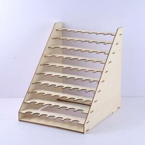 DIY-Holzpigmentfarbe-Flasche-Rack-Modular-Organizer-Storage-Stand-Werkzeuge