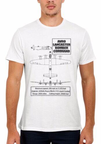 Avro Lancaster Bomber Plane Men Women Vest Tank Top Unisex T Shirt 2063