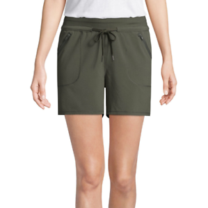 St XL John/'s Bay Hutchinson Green Active Knit Pull-On Shorts Size L XXL