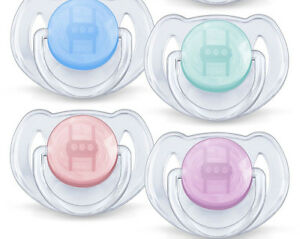3 x Twin Packs Philips Avent Baby Animal Soother Dummy 6-18m Pacifier GIRLS