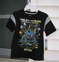 batman Boys Short Sleeve Shirt Size M ( 5-6 ) B5.