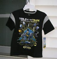 batman Boys Short Sleeve Shirt Size M ( 5-6 ) B5.