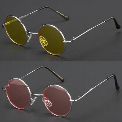 John Lennon  Vintage Classic Circle Round Sunglasses Men Women Color BLUE C g