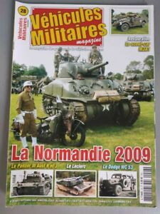 Vehicles Military Magazine N°28 Normandy 2009 Scout MA3A1