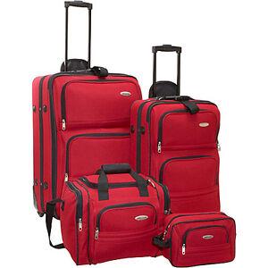 Samsonite-4-Piece-Travel-Set-Red