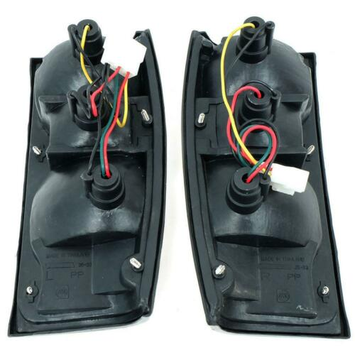 FIT 1984-1988 Toyota Hilux LN50 RN50 Compact Pickup Tail Lights Rear Lamp Pair