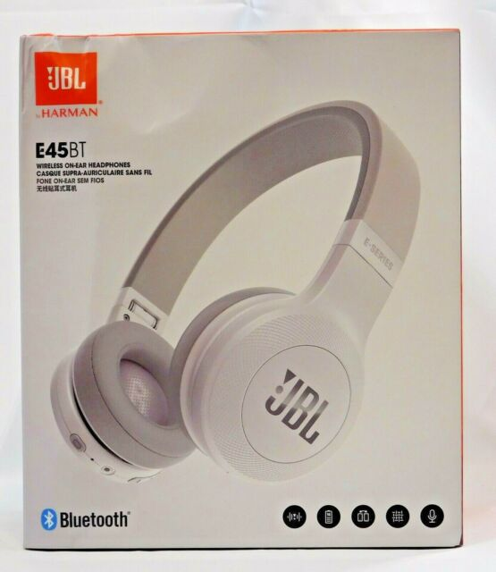 classic save up to 80% new cheap JBL E45bt On-ear Wireless Headphones White
