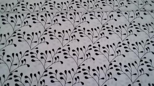 New-100/% Cotton Fabric-Black and White-Mod Studio Riley Blake Designs