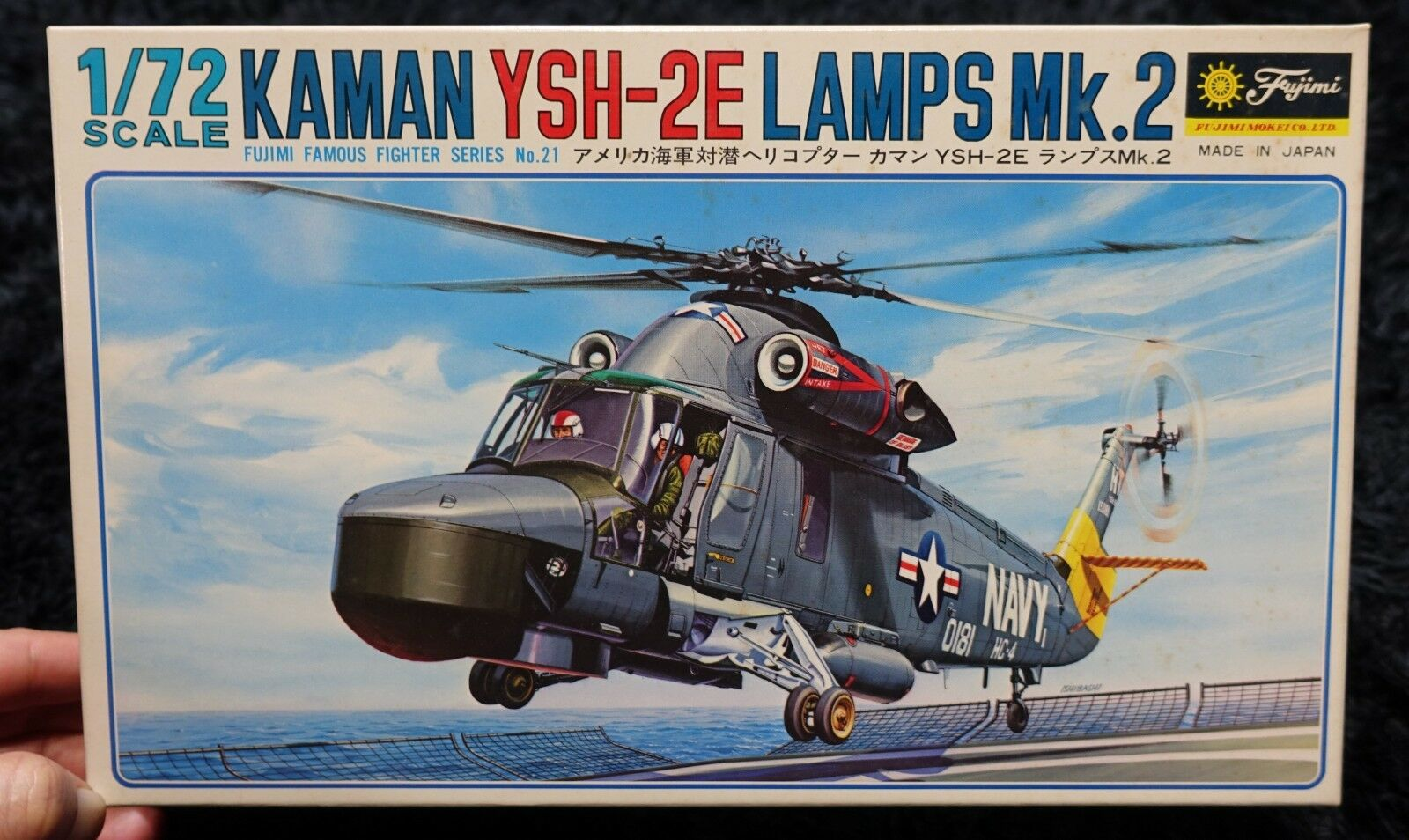 KAMAN YSH-2E LAMPS Mk2  1 72 FUJIMI MODEL KIT Helicopters Helicopter