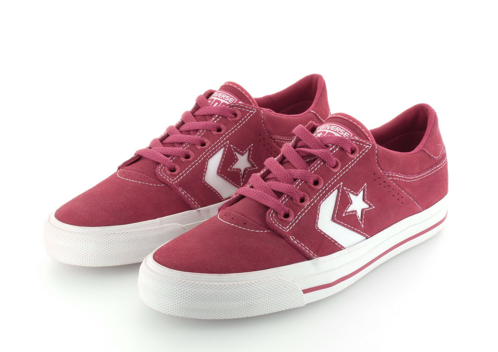 Converse Cons Tre Star Ox Red Suede Gr. 42,5  / 43 US 9