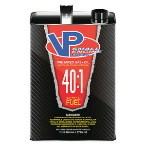 Vp Small Engine Fuels 62914 Small Engine Fuel, 2 Cycle,1 Gal.,Pk4
