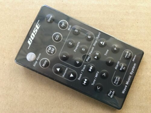 US genuine wave music system remote control for AWRCC1 AWRCC2 Radio//CD black SEA