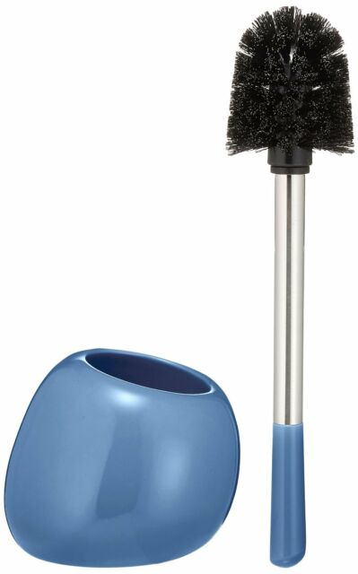 Blue WENKO 22547100 Fiesta//Toilet Brush Holder
