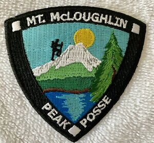 """New Mt McLoughlin Embroidered Patch Oregon Souvenir Keepsake 3"""" Sew On Patch"""