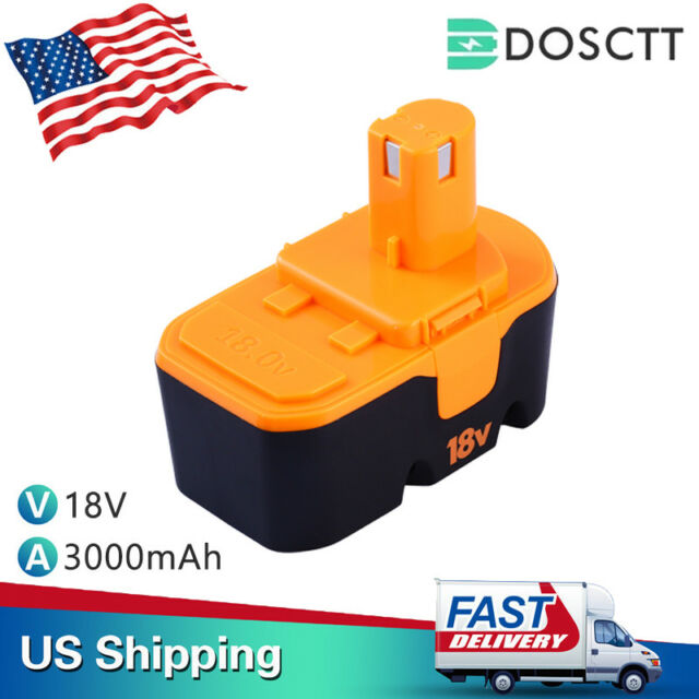 18V 3.0Ah Replace for Ryobi Battery NI-MH ONE+P100 P104 P105 P110ABP1801 ABP1803
