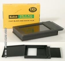 GRAPHIC FILM PACK ADAPTER, 2.25 X3.25 W/UNOPENED TRI-X 16 EXPOSURE FILM
