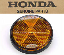 Genuine Honda Amber Reflector Black Base Safety 6X1.0MM Thread  (See Notes)#K54