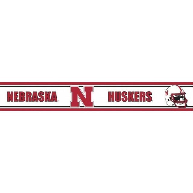 Nebraska 55 Inch Height Wallpaper Border