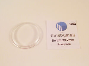 NEW! FOR SWATCH WATCH REPLACEMENT GLASS CRYSTAL FITS 39.2mm C42