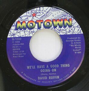 Hear-Northern-Soul-45-David-Ruffin-I-039-Ve-Lost-Everything-I-039-Ve-Ever-Loved-We