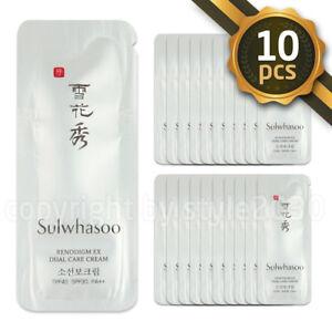 Sulwhasoo-Renodigm-EX-Dual-Care-Cream-1ml-x-10pcs-10ml-Anti-Wrinkle-Sunblock