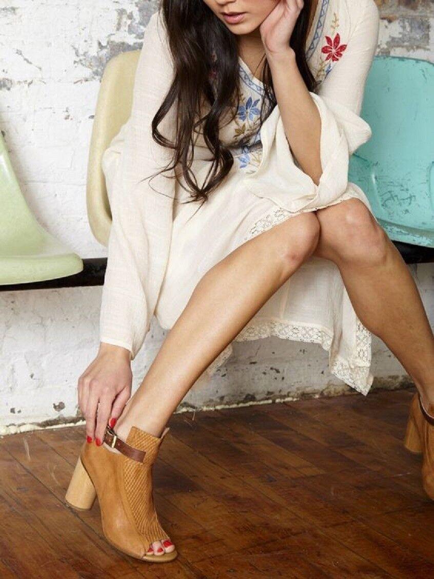 sconto prezzo basso MIZ MOOZ scarpe SAMINA PEEP TOE avvioIES 7 WHISKEY Marrone Marrone Marrone NEW ankle avvio heel  negozio online