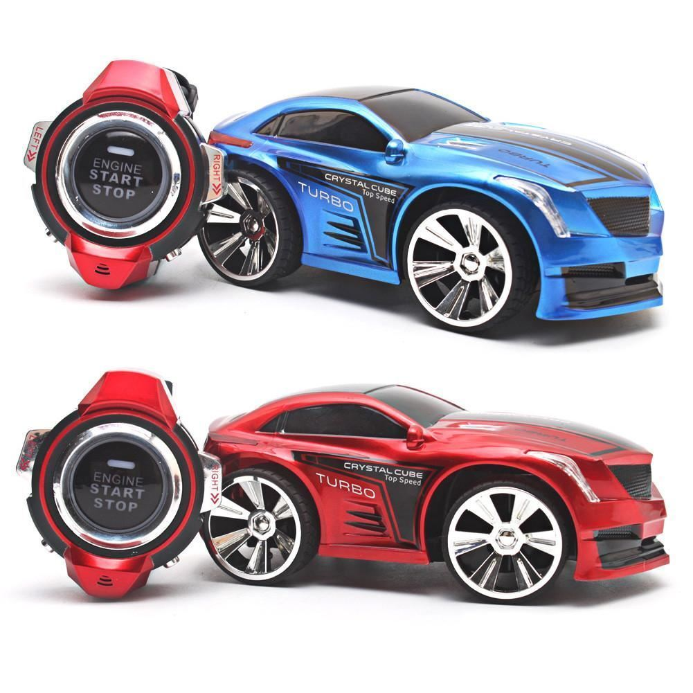 R-103 RC Car 2.4G 6CH Voice Command RC Car Smart Watch Remote Control Mini Car T