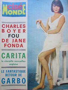 Cinema-Natalie-Wood-Carita-Guitry-Jane-Fonda-Mac-Lana-N-1671-Kodak-1966