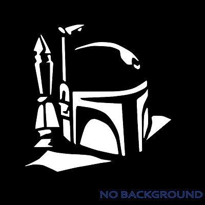 BOBA FETT Star Wars Fett Mandalorian Vinyl Decal Sticker laptop phone game