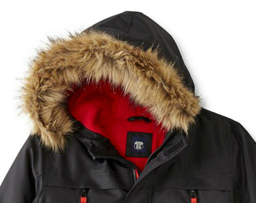 Size 4//5 Fleece Lining Insulated NEW Route 66 Boys/' Expedition Winter Jacket