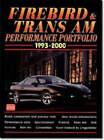 Firebird and Trans Am Performance Portfolio 1993-2000 by Brooklands Books Ltd (Paperback, 2000)