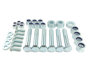 HT-Zinc-Radius-amp-Trailing-Arm-Bolt-Kit-For-Defender-90-110-Discovery-RR