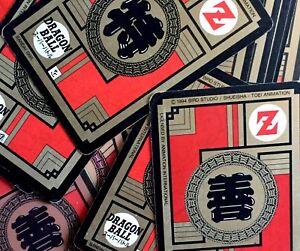 Carte à l/'unité Reg Carddass Dragon Ball Z Le Grand Combat 14-1996 Part 4