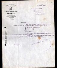 """BEAUNE & POMMARD (21) VIN / CAVE CHATEAU de la COMMARAINE """"VERCHERRE & Cie"""" 1923"""