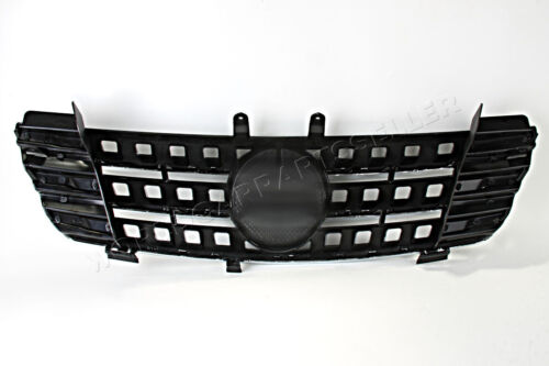 Front Center Grille Black Fits MERCEDES ML Class W164 Facelift 2005-2008