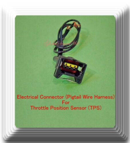Pigtail Electrical Connector For Throttle Position Sensor TH100 Fits Volvo