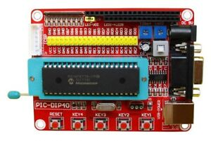 Details about Mini PIC Development Board Learning Programmer Experiment +  Microchip PIC16F877A