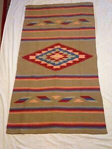 Image Is Loading Vintage Indian Rug Navajo Pueblo Northern Nm Find