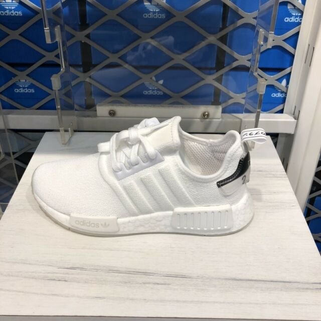 Adidas Originals NMD R1 Triple White Run Sneakers Shoes