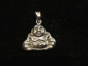 Sterling-Silver-Buddha-Meditation-Praying-295-Pendant-27-mm