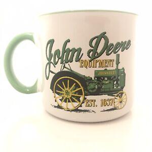 New~'John Deere' Vintage Tractor Coffee Cup ~ 21.5oz
