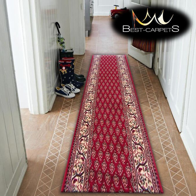 Épais Coureur de Hall Traditionnel Optimal Oset Bordeaux Largeur Largeur Largeur 67-150cm Extra | Qualité Fiable  752569