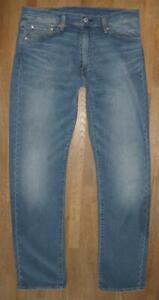 """"""" Levi `S 513 """" D'Homme Jeans / Levis Premium Bleu Jeans en Bleu W32 """" / L32 """""""