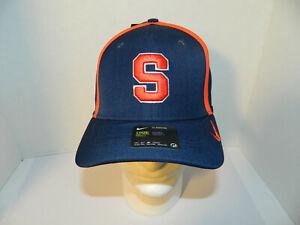 e6213e41 Syracuse Orange Su Navy blue Hat Adjustable Cap Nike swoosh Classic ...