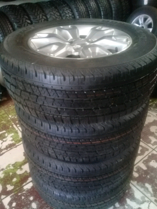 """FORD RANGER 18""""WILDTRACK RIMS /TYRES X4"""